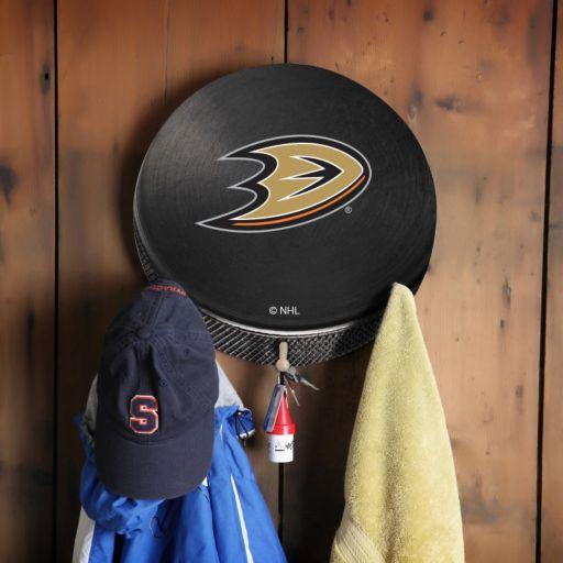 Anaheim Ducks Hockey Puck Coat Hanger