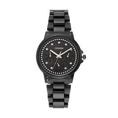 Citizen Eco-Drive Women's Silhouette Crystal Stainless Steel Watch