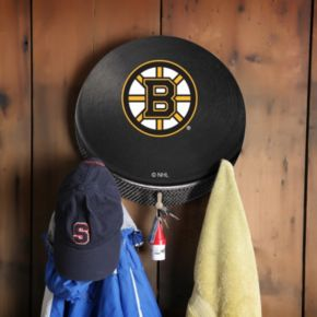 Boston Bruins Hockey Puck Coat Hanger