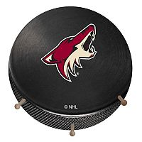 Arizona Coyotes Hockey Puck Coat Hanger