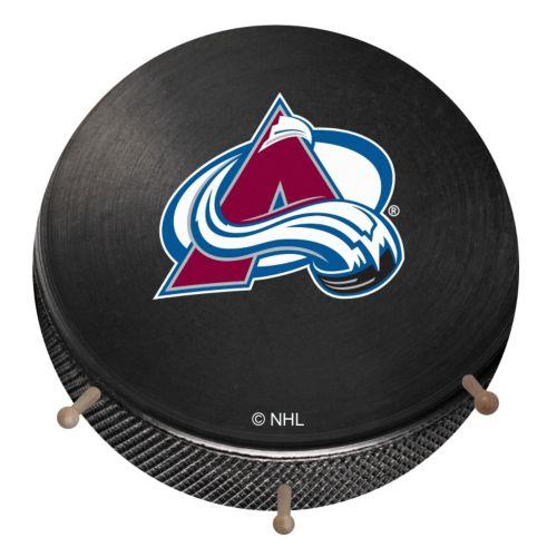 Colorado Avalanche Hockey Puck Coat Hanger