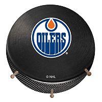 Edmonton Oilers Hockey Puck Coat Hanger