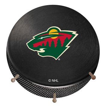 Minnesota Wild Hockey Puck Coat Hanger