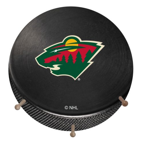 Minnesota Wild Hockey Puck Coat Hanger