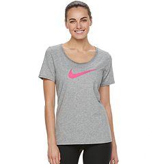 Women's Nike Swoosh Short Sleeve Graphic Tee