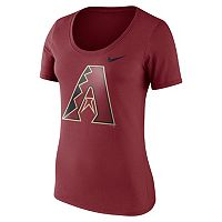 Women's Nike Arizona Diamondbacks Scoopneck Tee