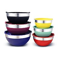 Elite Gourmet 12 pc Mixing Bowl Set