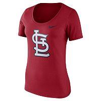 Women's Nike St. Louis Cardinals Scoopneck Tee