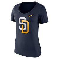Women's Nike San Diego Padres Scoopneck Tee