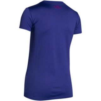 "Girls 7-16 Under Armour ""I Will Never Give Up"" Short Sleeve Tee"