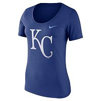 Women's Nike Kansas City Royals Scoopneck Tee