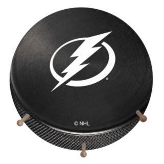 Tampa Bay Lightning Hockey Puck Coat Hanger