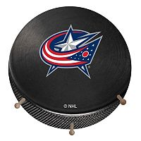 Columbus Blue Jackets Hockey Puck Coat Hanger