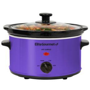 Elite Cuisine 2-qt. Oval Slow Cooker