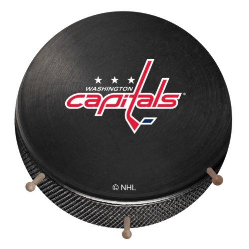 Washington Capitals Hockey Puck Coat Hanger