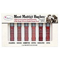 theBalm Meet Matt(e) Hughes Liquid Lipstick Set - Limited Edition