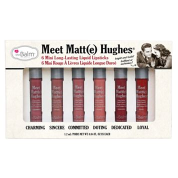 theBalm Meet Matt(e) Hughes Mini Liquid Lipstick Set - Limited Edition