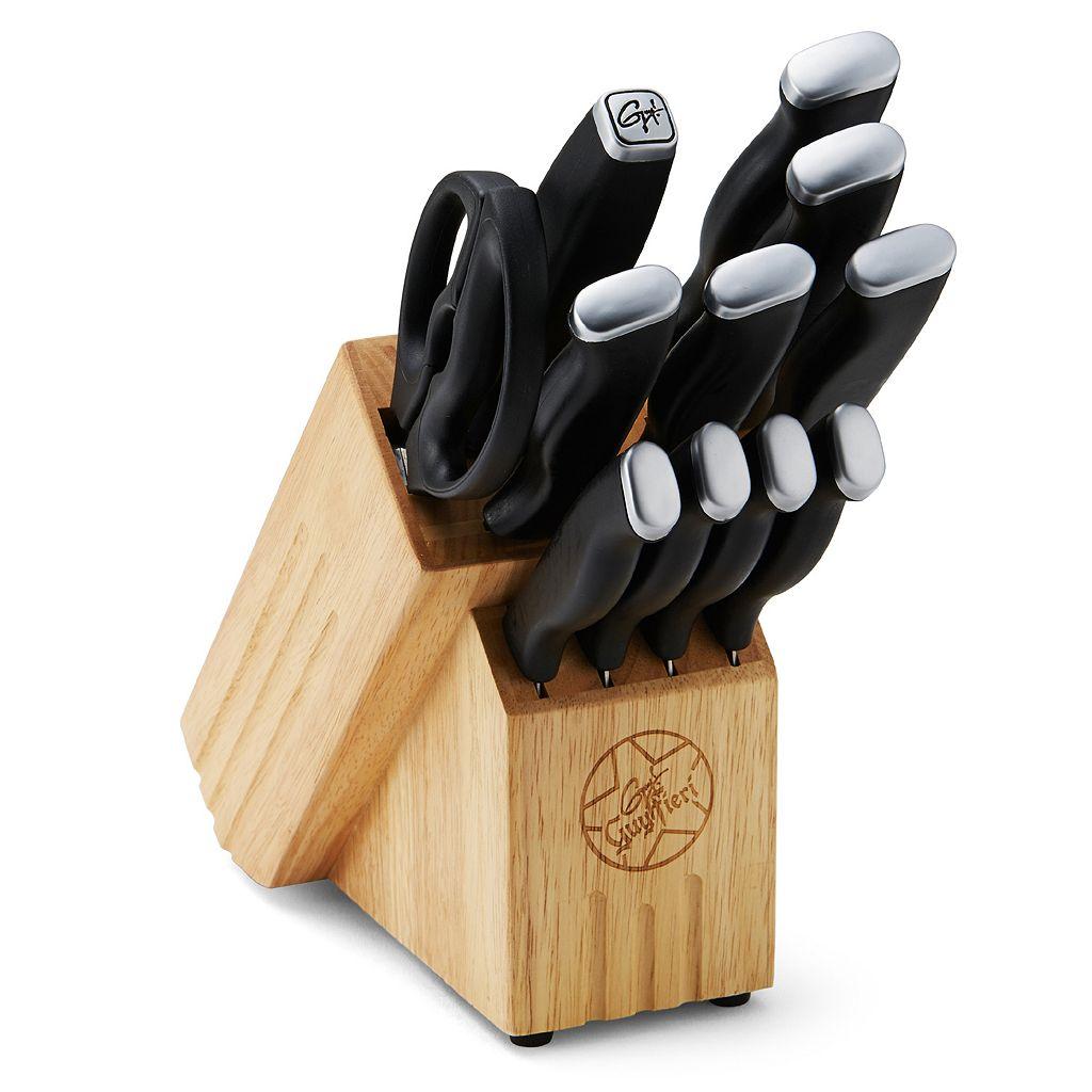 Guy Fieri 12-pc. Knife Block Set