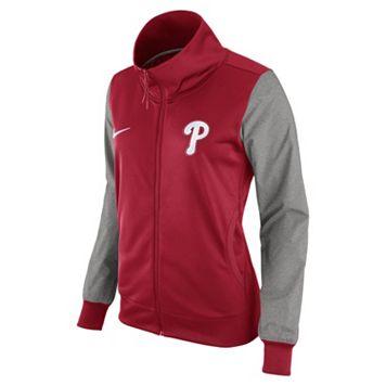 Women's Nike Philadelphia Phillies Track Jacket