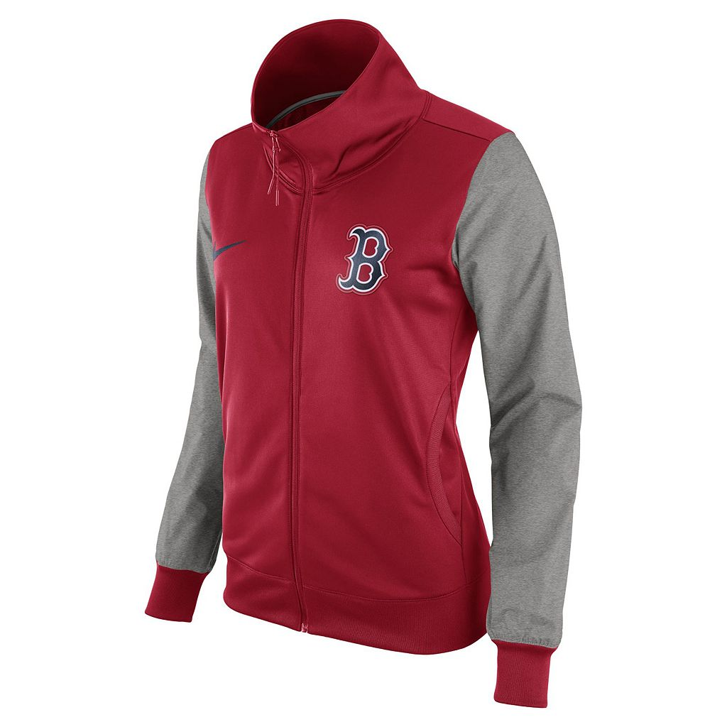 Women's Nike Boston Red Sox Track Jacket