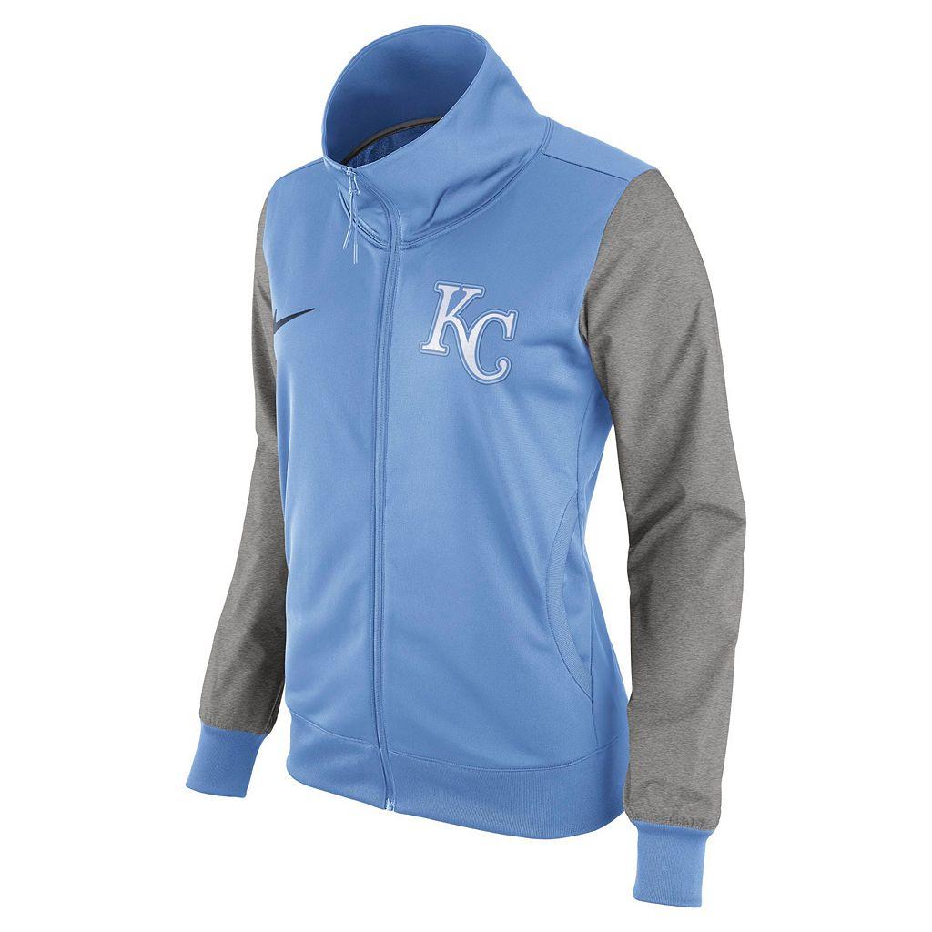 Women's Nike Kansas City Royals Track Jacket