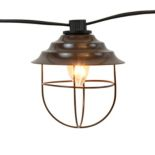 LumaBase Metal Cafe String Lights