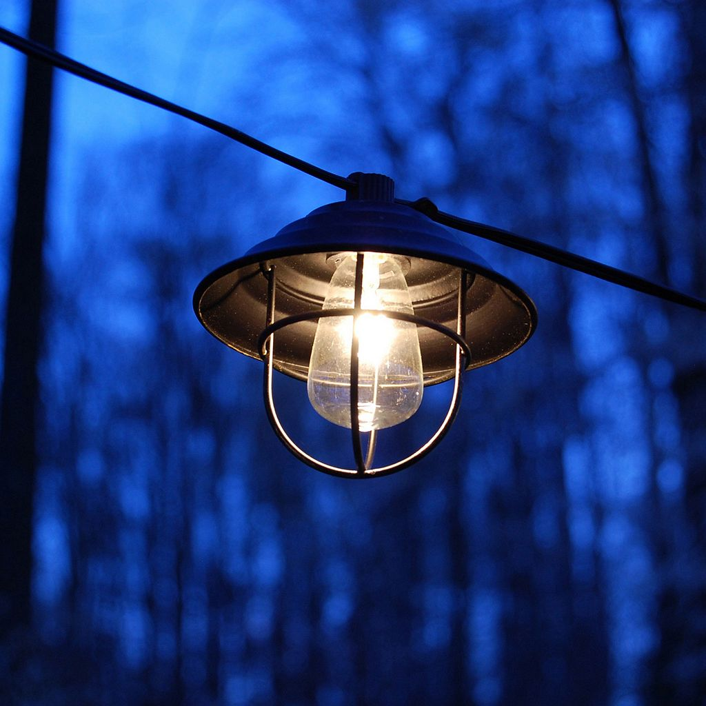 LumaBase Metal Cafe String Lights