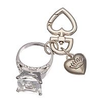 Juicy Couture Put A Ring On It Key Chain