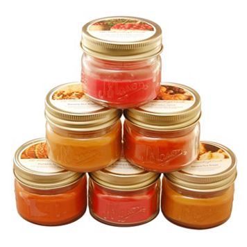 LumaBase Harvest Collection 3 oz. Scented Candles 6-piece Set