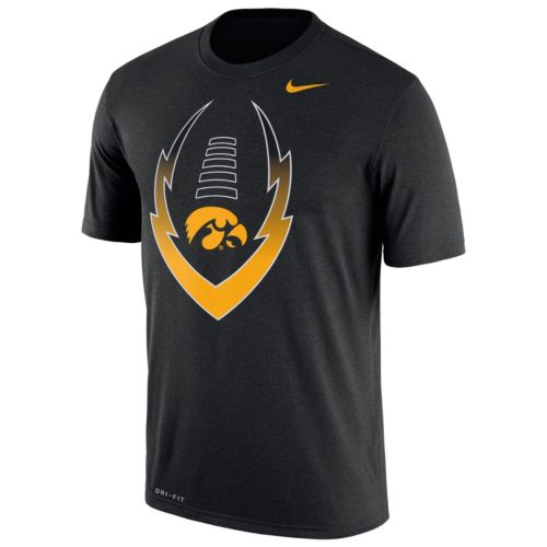 Men's Nike Iowa Hawkeyes Legend Football Icon Dri-FIT Tee