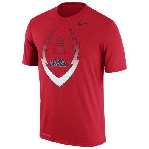 Men's Nike Ole Miss Rebels Legend Football Icon Dri-FIT Tee