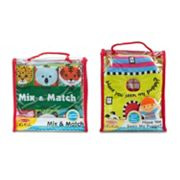 Melissa & Doug L's Kids Mix and Match & Have You Seen My Puppy Cloth Book Bundle