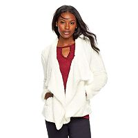 Women's Juicy Couture High-Low Sherpa Jacket