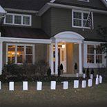 LumaBase White Flame Resistant Luminaria Bags 100-piece Set
