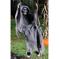 Swinging Skeleton Reaper 5-Foot Halloween Décor