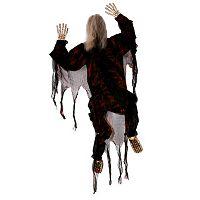 Black Climbing Dead Skeleton Halloween Decoration