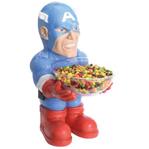 Marvel Captain America Candy Bowl Halloween Décor