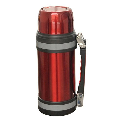 Brentwood 1.2-Liter Vacuum-Insulated Stainless Steel Water Bottle