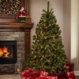 Sterling 7-ft. Pre-Lit Montana Pine Artificial Christmas Tree