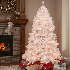 pre lit montana pine artificial christmas tree