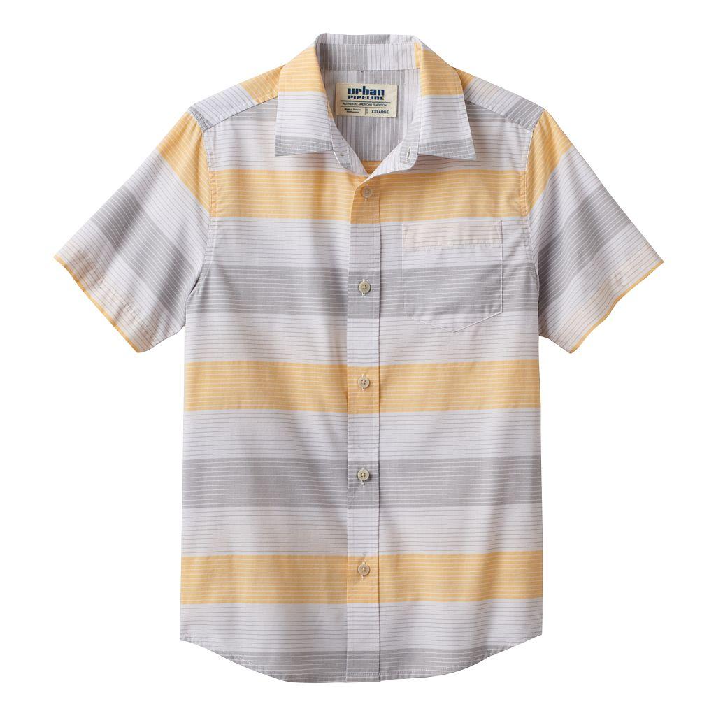 Boys 8-20 Urban Pipeline® Striped Button-Down Shirt