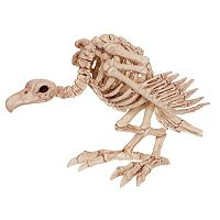 Skeleton Vulture Halloween Décor