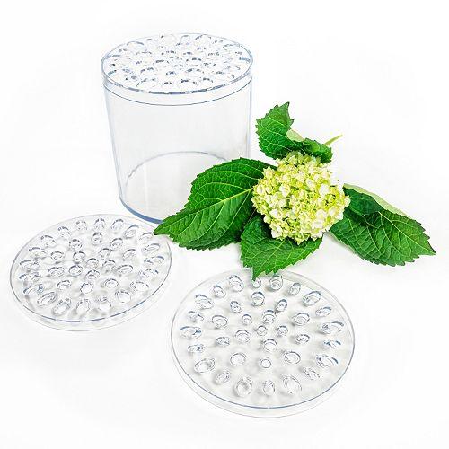 LumaBase Flower Crazy Arrangement Cylinder Vase