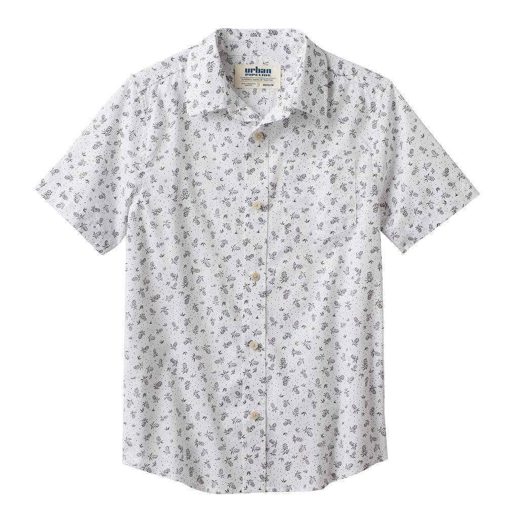 Boys 8-20 Urban Pipeline® Pineapple Button-Down Shirt