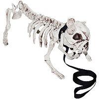 Skeleton Dog Halloween Décor
