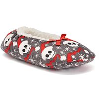 Women's Disney Gripper Ballet Slippers