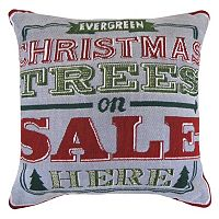 Park B. Smith ''Evergreen'' Tapestry Throw Pillow