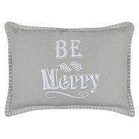 Park B. Smith ''Be Merry'' Throw Pillow