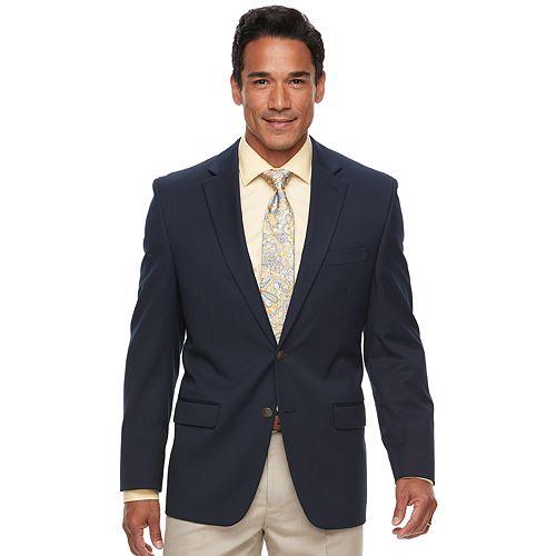 Big & Tall Chaps Classic-Fit Performance Blazer