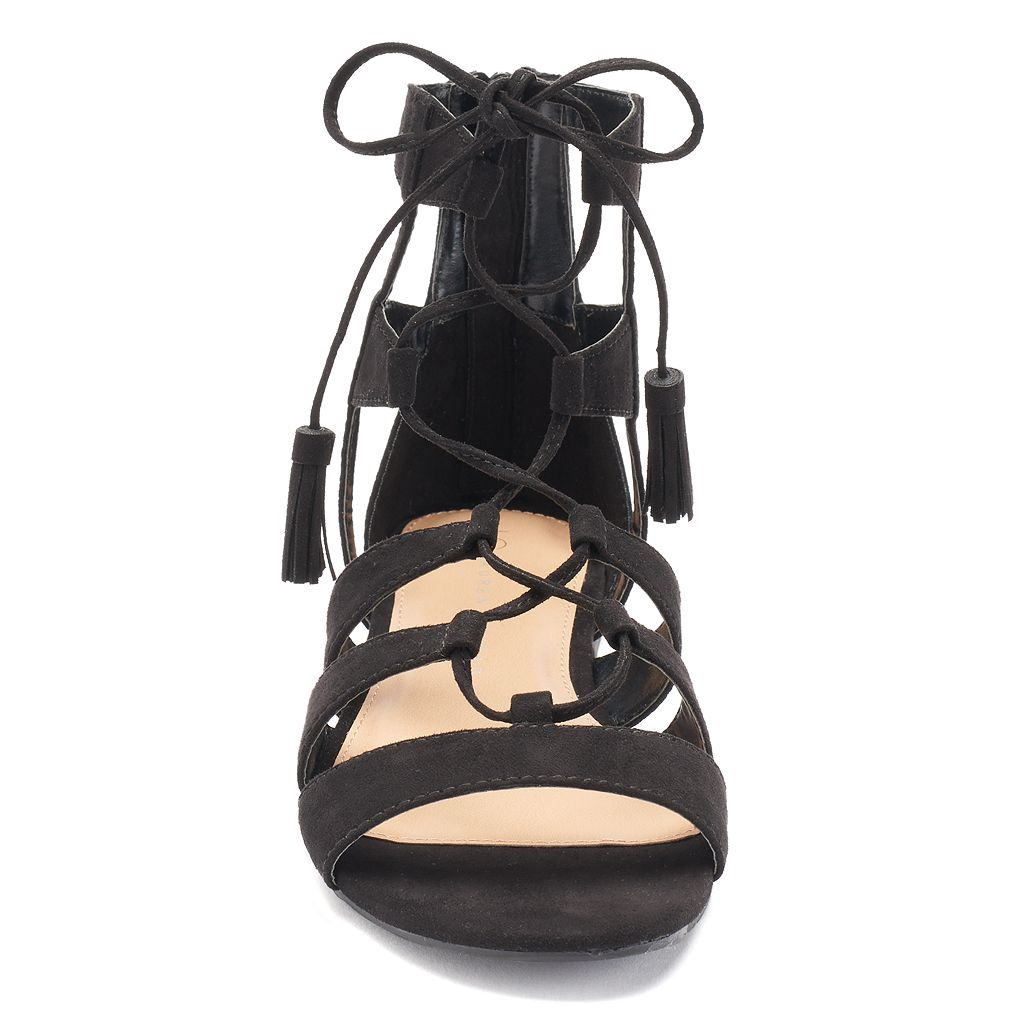LC Lauren Conrad Women's Gladiator Sandals